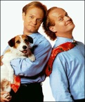 Shut up, Frasier, or I swear to God I'll cut your head off and sew it to Eddie's body.