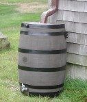 Rain barrels: legal in Oregon.