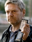 Branagh as Kurt Wallander, a/k/a Inspector Droopy Dog.