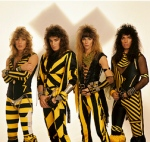 See that's funny because Stryper was a Christian - ah never mind.