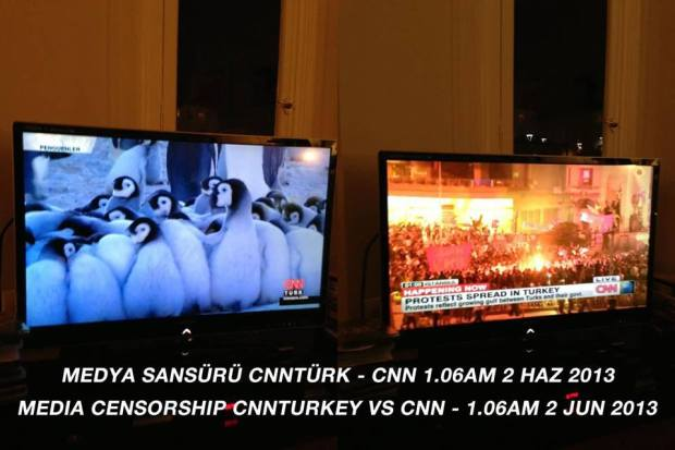 Turkish CNN censorship.