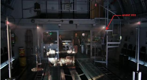 Agents of SHIELD cargo bay